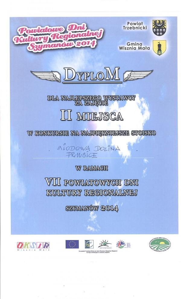 Dyplom - 2 miejsce
