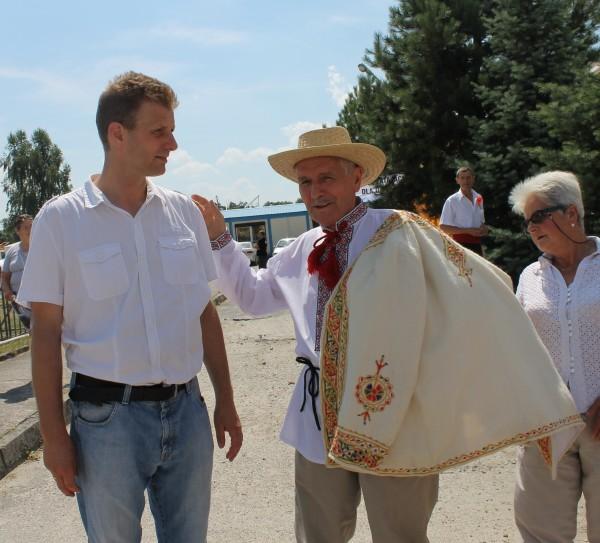 Pan Starosta Robert Adach i Pan Marian Kowalski