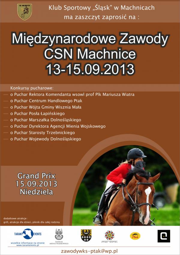 Machnice- Zawody sportowe