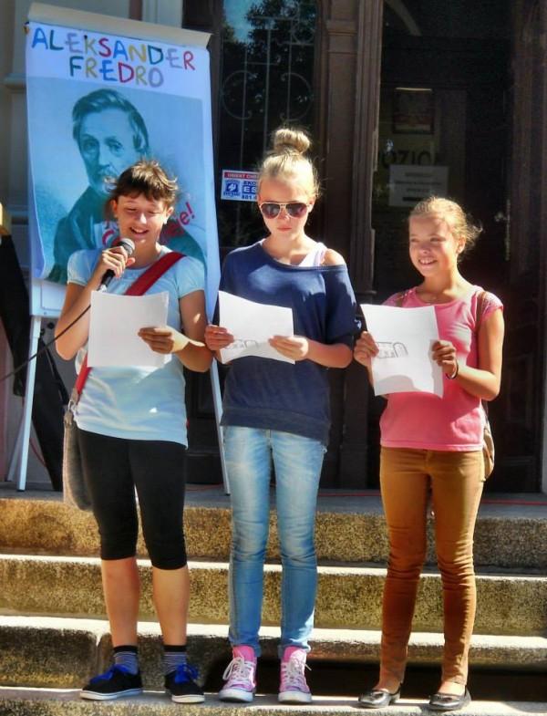 Powiat Trzebnicki czyta teksty Fredry