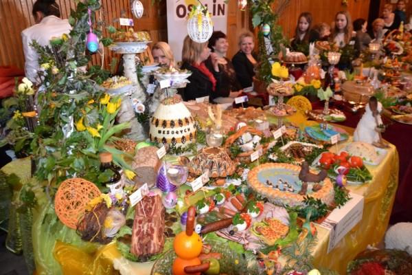 Wystawa stołów Wielkanocnych