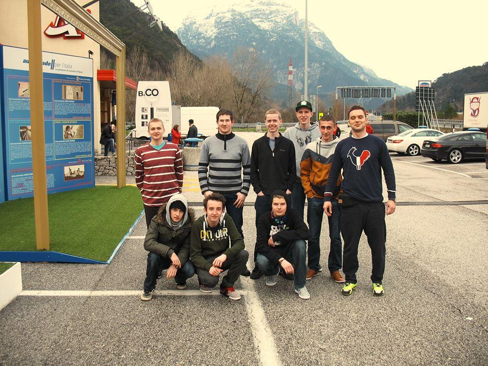 Projekt Leonardo da vinci - uczniowie PZS nr 2 we Włoszech