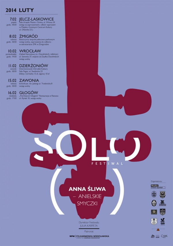 Plakat Solo Festiwal