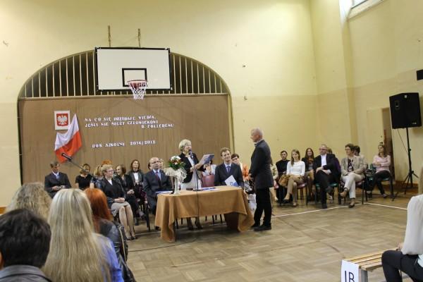 Naczelnik Wydziału Inwestycyjno Technicznego w Starostwie Powiatowym w Trzebnicy Pan Marek Rakowski