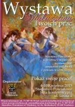 Wystawa prac młodych talentów z Powiatu Trzebnickiego
