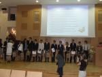 Trzebniccy licealiści na gali Olimpijczycy 2012