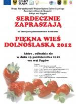 Rozstrzygnięcie konkursu Piękna wieś Dolnego Śląska