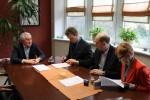Podpisanie umowy na dofinansowanie budowy kotłowni w PCPR