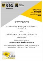 Konsultacje w sprawie strategii rozwoju Dolnego Śląska