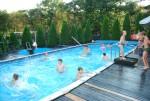 Lekcje pływania na basenie