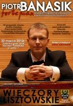 Zapraszamy na kolejny koncert Lisztowski - fortepian Piotr Banasik