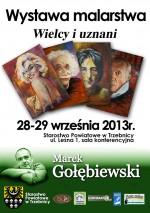 Już teraz zapraszamy na wystawę malarza Marka Gołębiewskiego