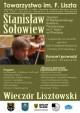 Kolejny Wieczór Lisztowski - wystąpi Stanisław Sołowiew