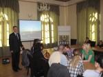Spotkanie ze studentami z Poznania
