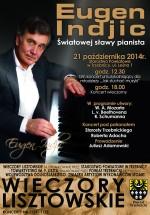 Zapraszamy na kolejny koncert Lisztowski - 21 października br.