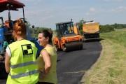 Trwa remont na drodze powiatowej Nowy Dwór - Brzyków