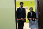 Otwarcie Multimedialnego Centrum Informacji Naukowej przez Starostę Roberta Adacha i Dyrektor Danutę Szuber