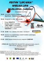 Festyn Lipówka - Wielka Lipa
