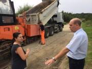 Budowa Drogi drogi powiatowej 1357D Osolin – Morzęcin Mały na ukończeniu