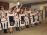 Pokaz ludowego zespołu Carpatia z Rumunii