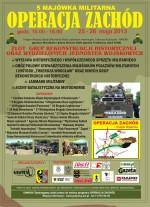 FESTIWAL MILITARNY OPERACJA ZACHÓD 2013- 25-26.05.2013
