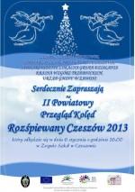 Przegląd Kolęd Powiatowych - Rozśpiewany Czeszów 2013