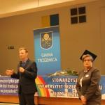 Starosta Powiatu Trzebnickiego i Pani Irena Kahalik