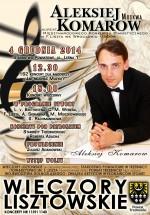 Zapraszamy na ostatni koncert Lisztowski w tym roku.