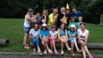 Młodzież z Ukrainy podczas pobytu w Powiecie Trzebnickim