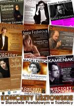 Kolejna edycja koncertów lisztowskich współfinansowanych ze środków Powiatu Trzebnickiego