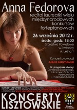 Zapraszamy na koncert Anny Federovej