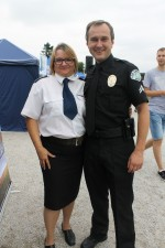 asp. szt. Iwona Mazur i Policja z Los Angeles:)